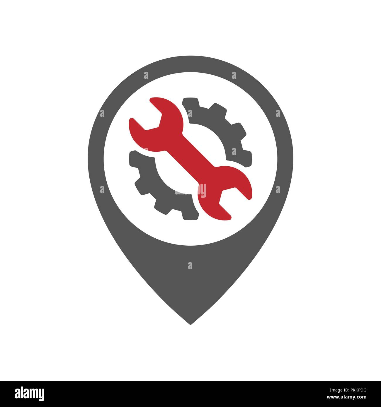 Auto Pin Car Point Automotive Logo Design Template Eps 10 Stock