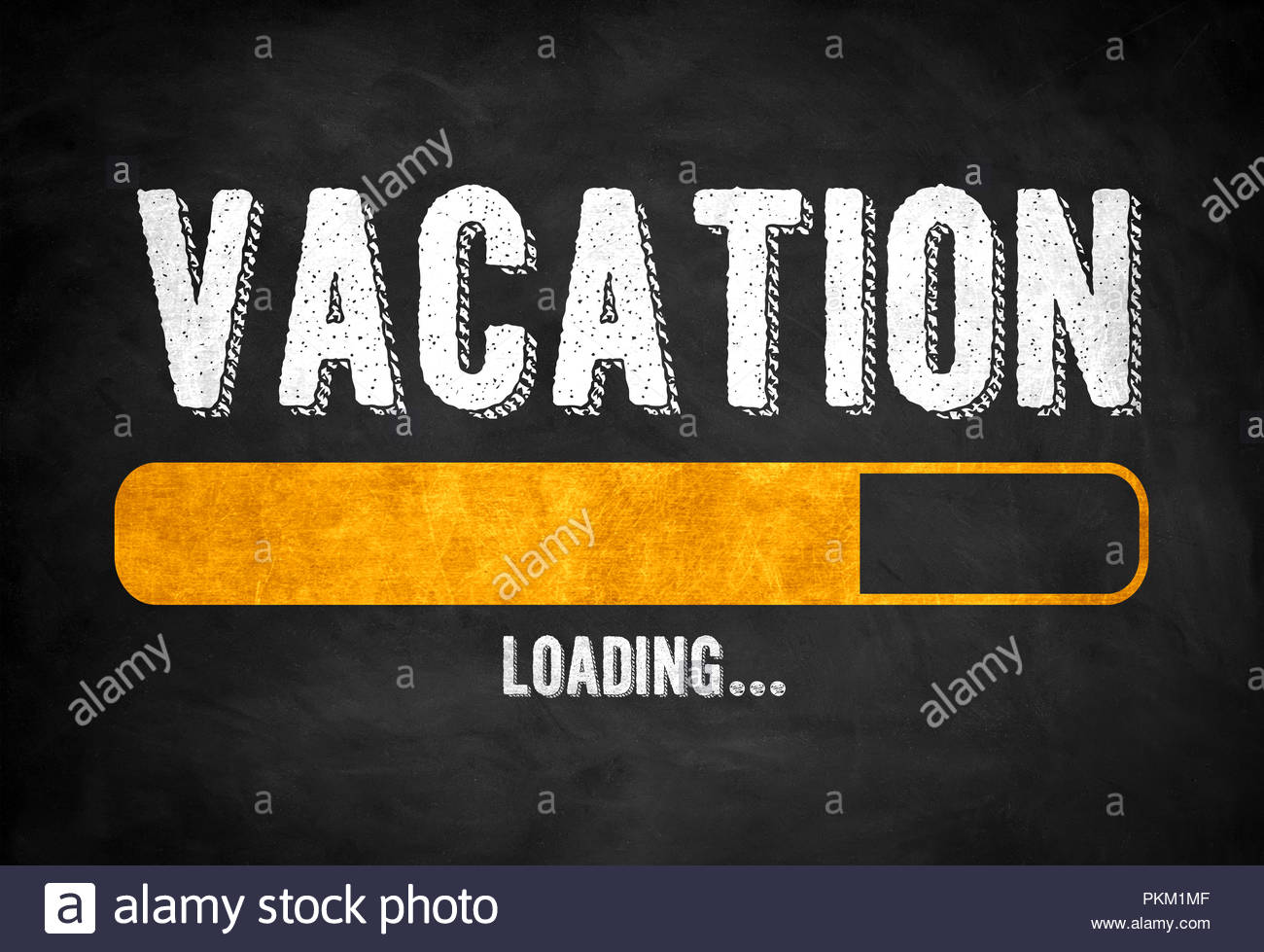 Vacation incoming - Stock Image