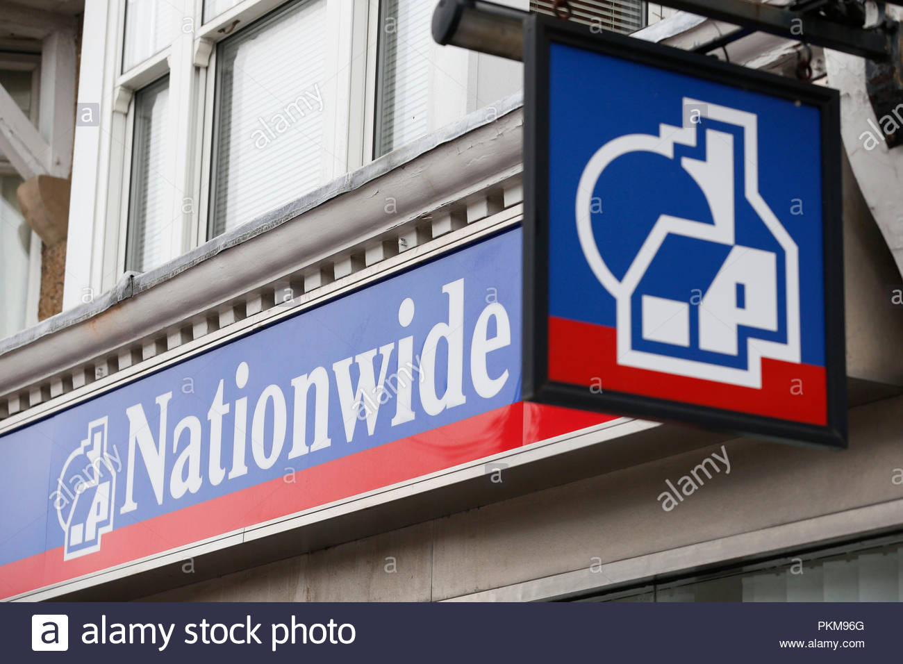 """File photo dated 04/09/14 of a Nationwide branch. The building society has said it is not planning redundancies and will maintain its branch network as it invests another £1.3 billion in tech to help """"simplify"""" operations. - Stock Image"""
