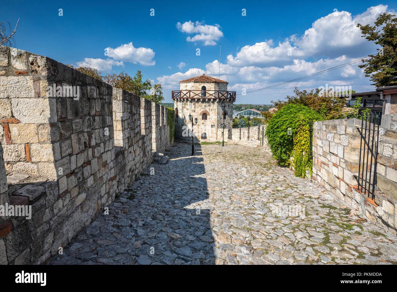 Kalemegdan fortress in Belgrade - Stock Image