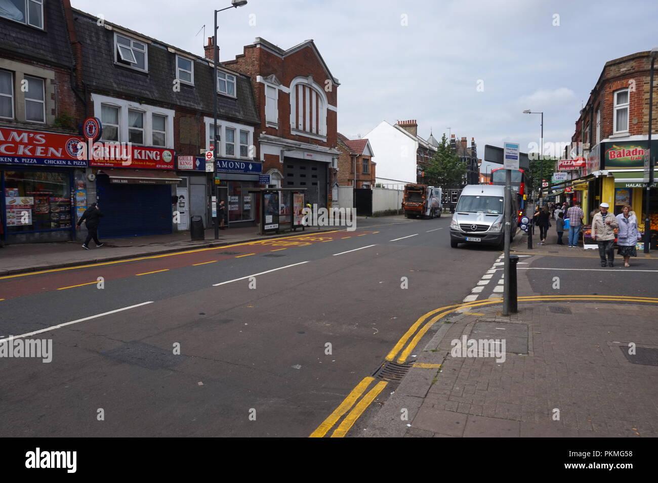 Willesden High Street, London, United Kingdom - Stock Image