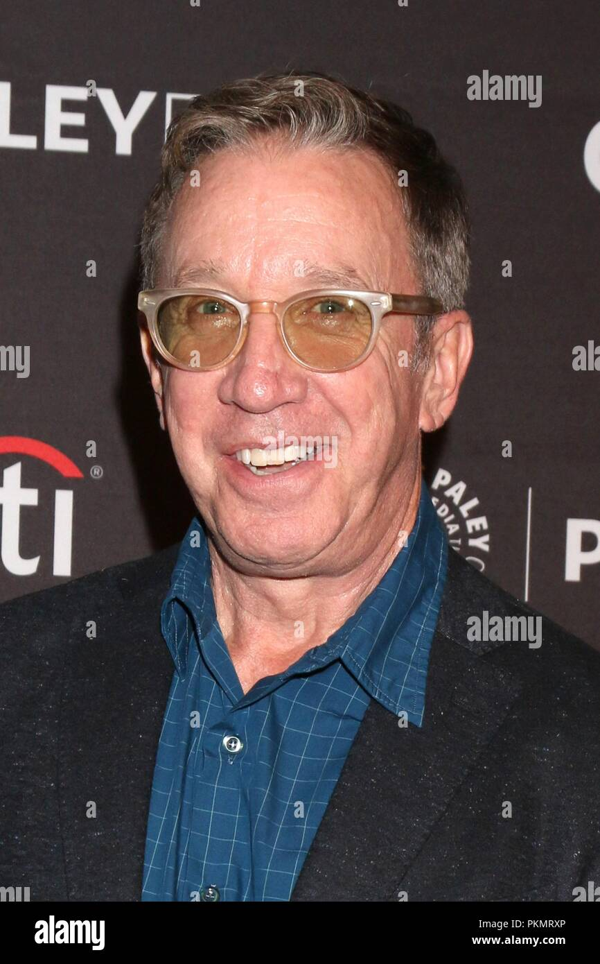 Beverly Hills, CA. 13th Sep, 2018. Tim Allen at arrivals for FOX Presents THE COOL KIDS and LAST MAN STANDING at the 12th Annual PaleyFest Fall TV Previews, Paley Center for Media, Beverly Hills, CA September 13, 2018. Credit: Priscilla Grant/Everett Collection/Alamy Live News - Stock Image
