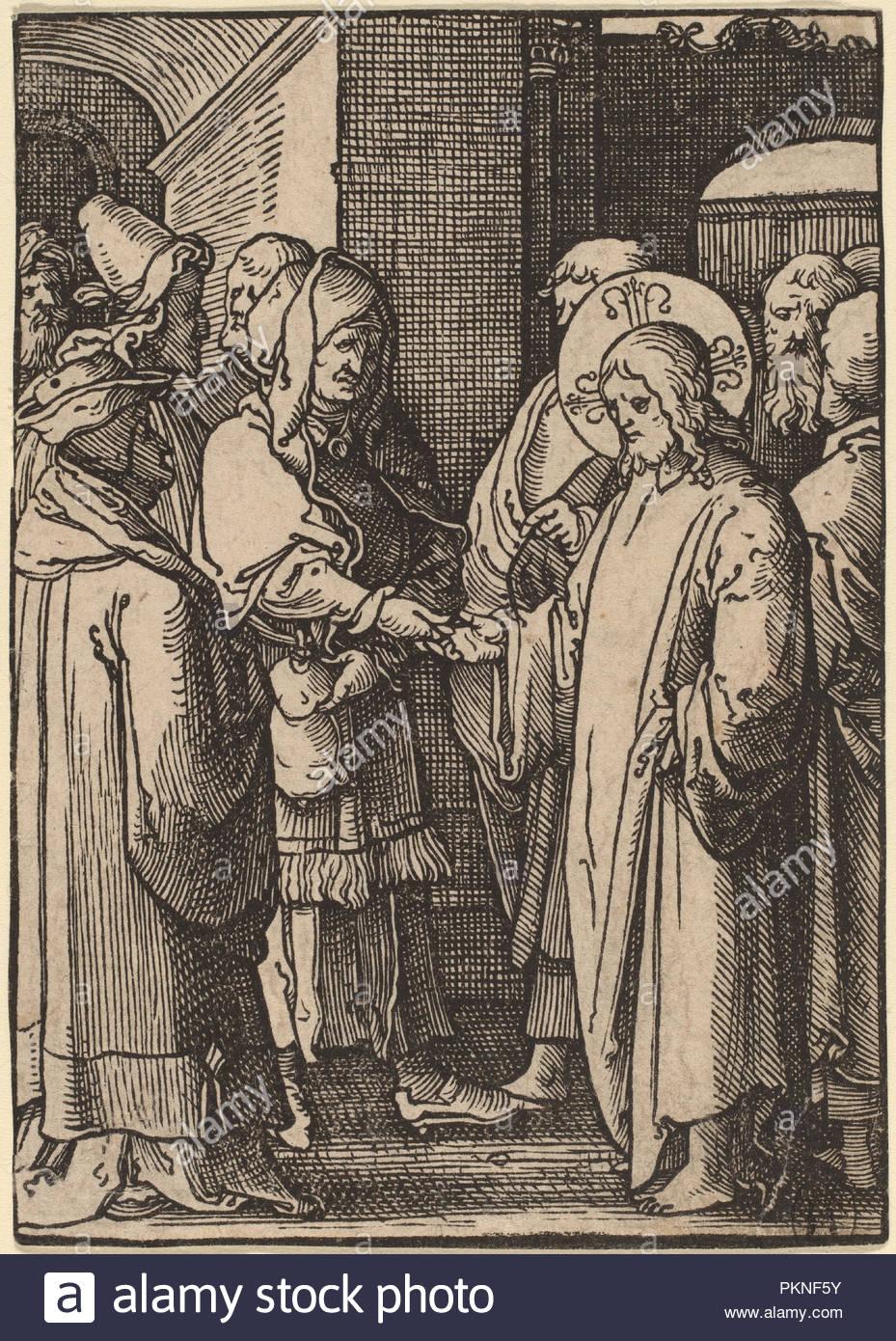 1523. Medium: woodcut. Museum: National Gallery of Art, Washington DC.  Author: LUCAS VAN LEYDEN.