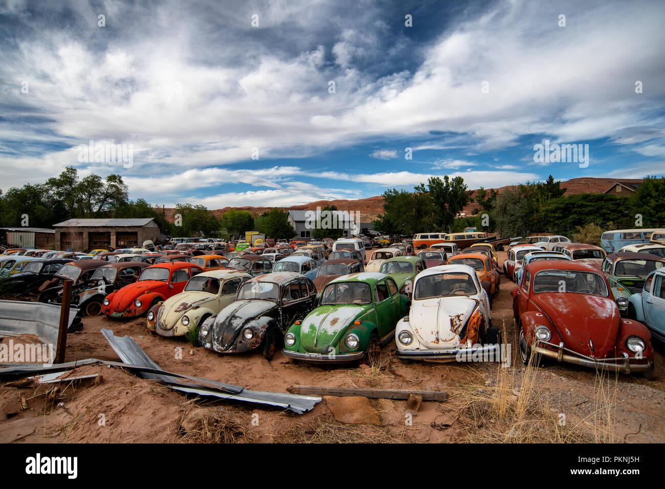 Volkswagen Junk Yard Stock Photos Amp Volkswagen Junk Yard
