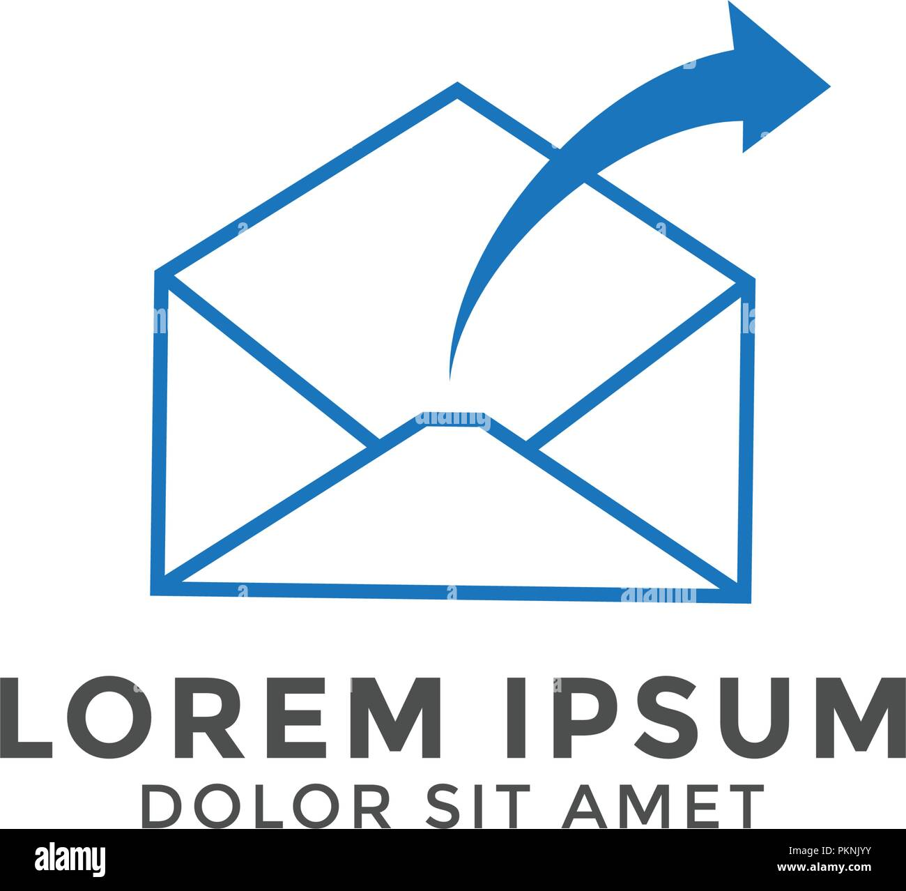 email letter logo icon design template vector graphic stock vector