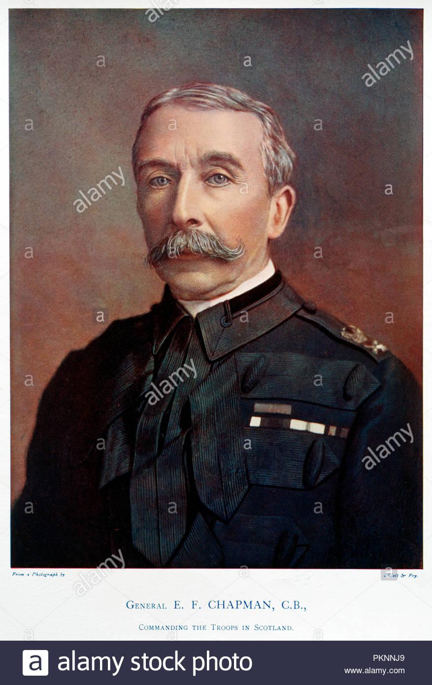 1900 Sir Richard Harrison Kcb Insp Gen Fortifications Art