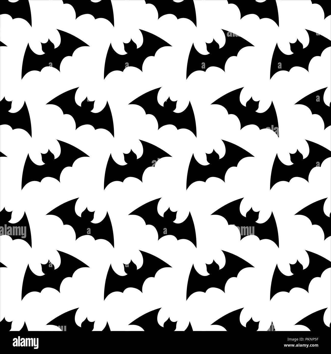 Seamless Pattern Halloween Background Halloween Flying Bat Halloween Vector Seamless Pattern Wallpaper Background Silhouette Of Bats Stock Vector Image Art Alamy
