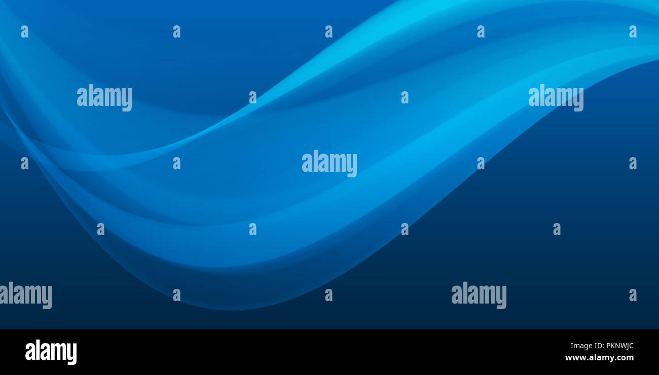 Blue Wave Background On Dark Gradient Abstract Wallpaper