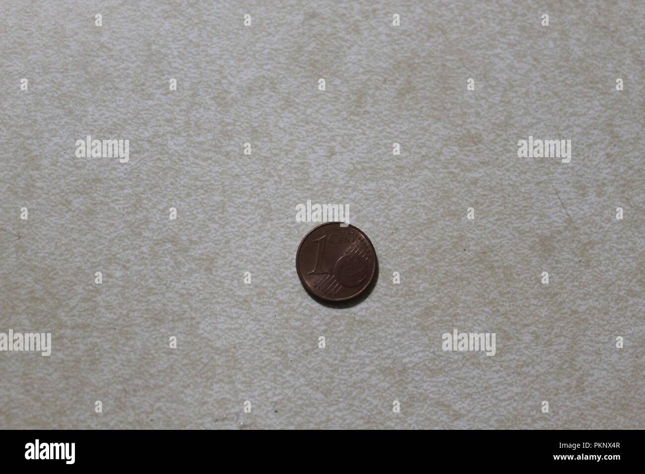 Euro Cent - Stock Image