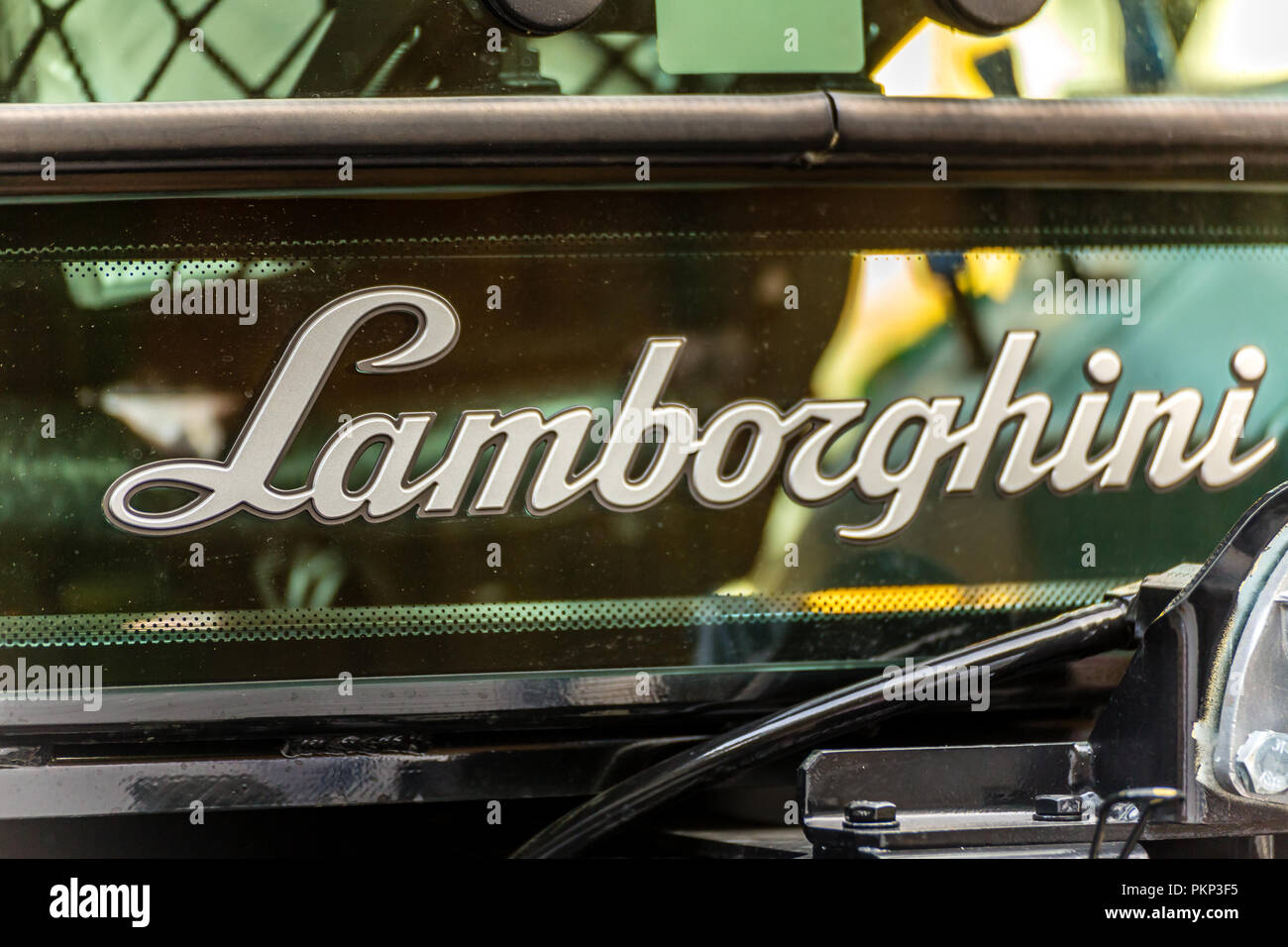 Lamborghini Tractor Stock Photos Lamborghini Tractor Stock Images