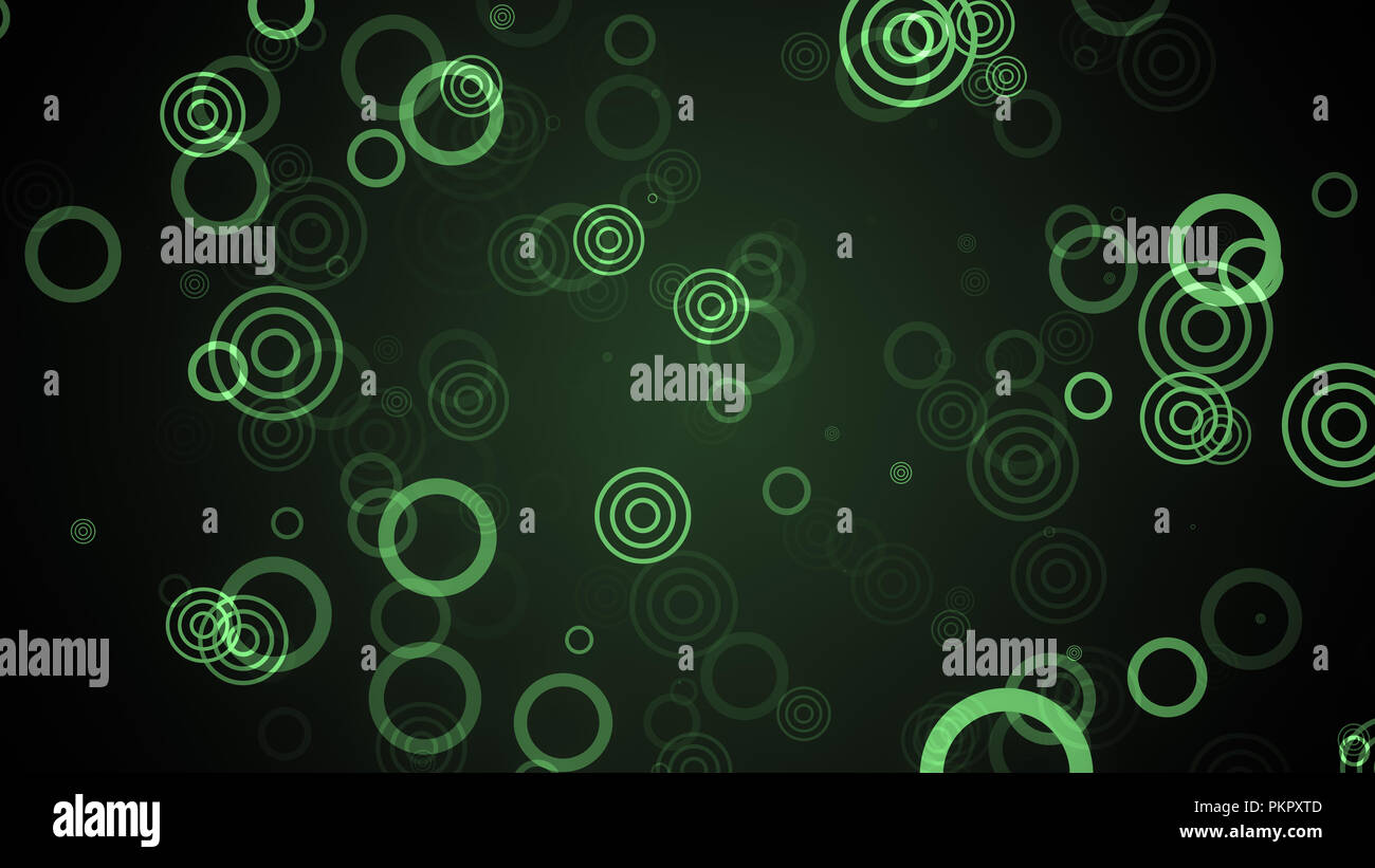 Retro Background with circles in Depth. 8K Ultra HD Resolution at 300dpi - Stock Image