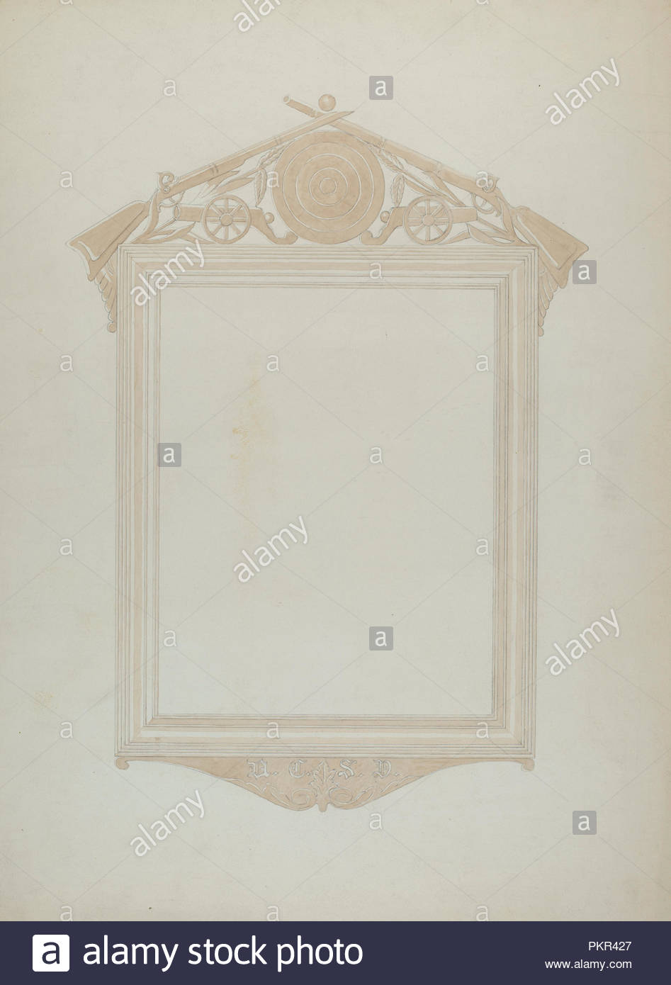 Picture Frame. Dated: 1935/1942. Dimensions: overall: 59.8 x 44.2 cm ...