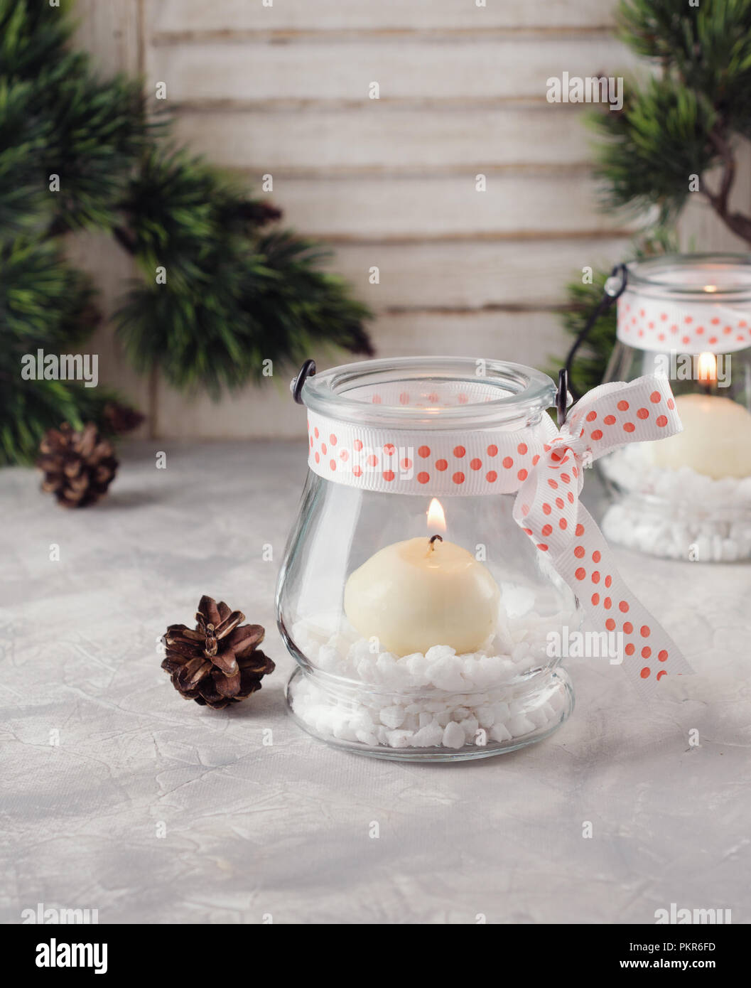 Christmas Candle Holders High Resolution Stock Photography And Images Alamy