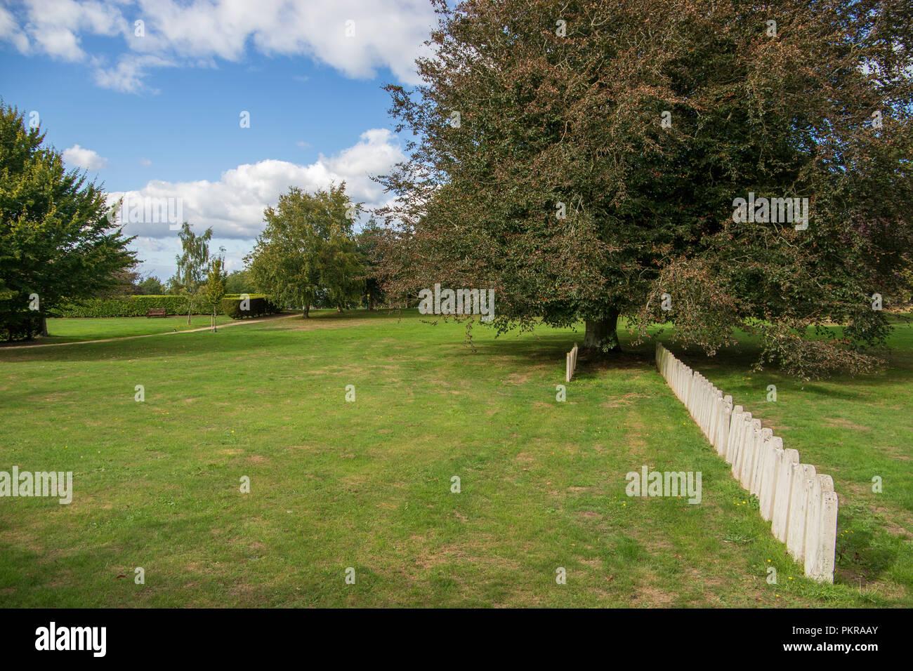The 1942 Bath Air Raid Graves at Haycombe Cemetery, Bath