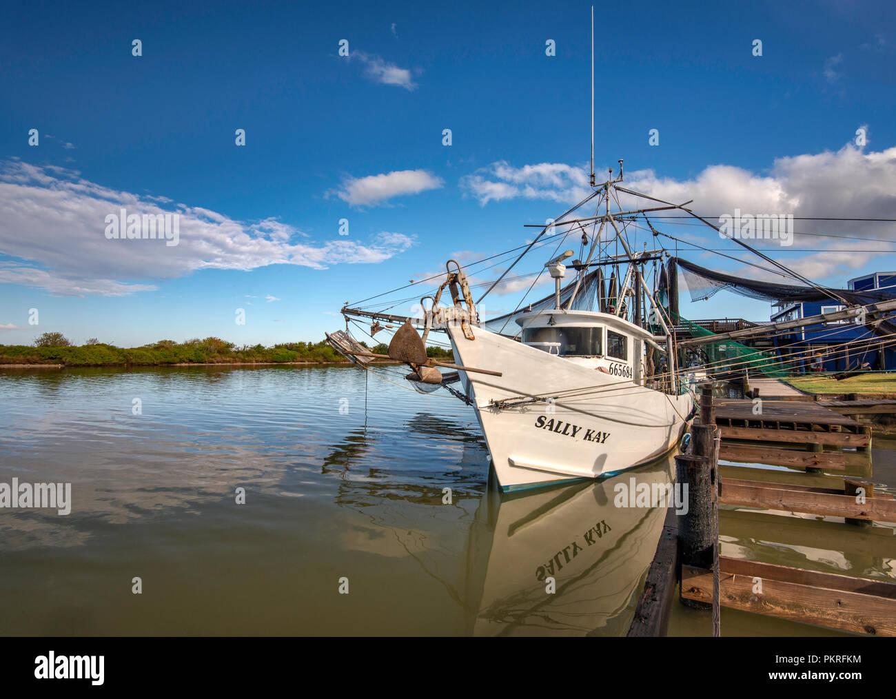 Shrimp Boat Texas Stock Photos & Shrimp Boat Texas Stock
