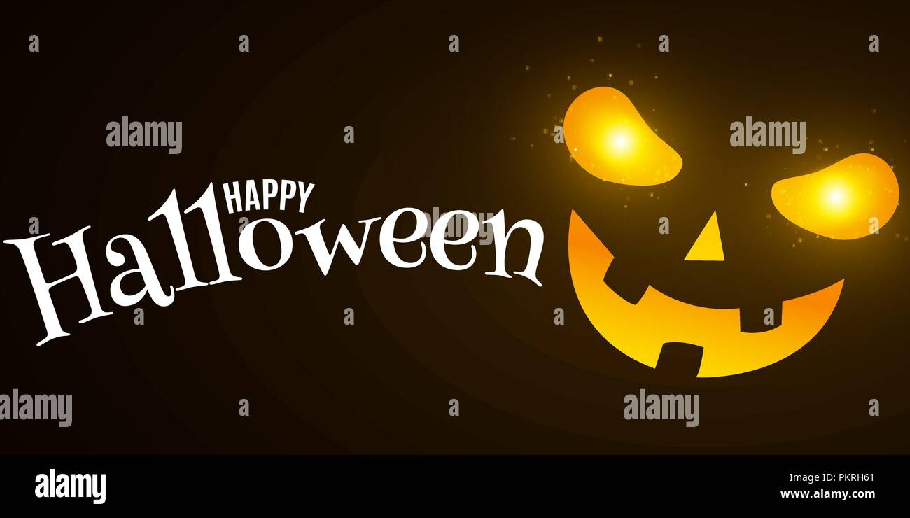scary halloween face stock vector images - alamy