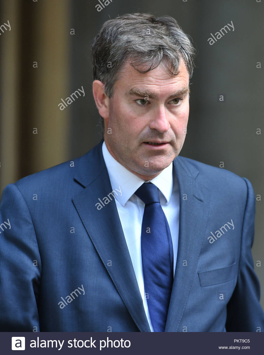 """File photo dated 11/06/17 of Justice Secretary David Gauke. No-fault divorces would be introduced under a planned shake-up of the """"archaic"""" law governing the end of marriages, the Justice Secretary has announced. - Stock Image"""