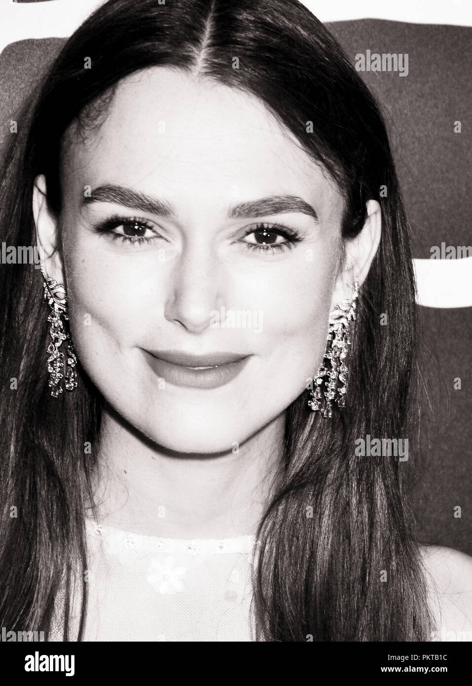 Keira Knightley 024 attends the premiere of Bleecker Street Media's 'Colette' at Samuel Goldwyn Theater on September 14, 2018 in Beverly Hills, California - Stock Image