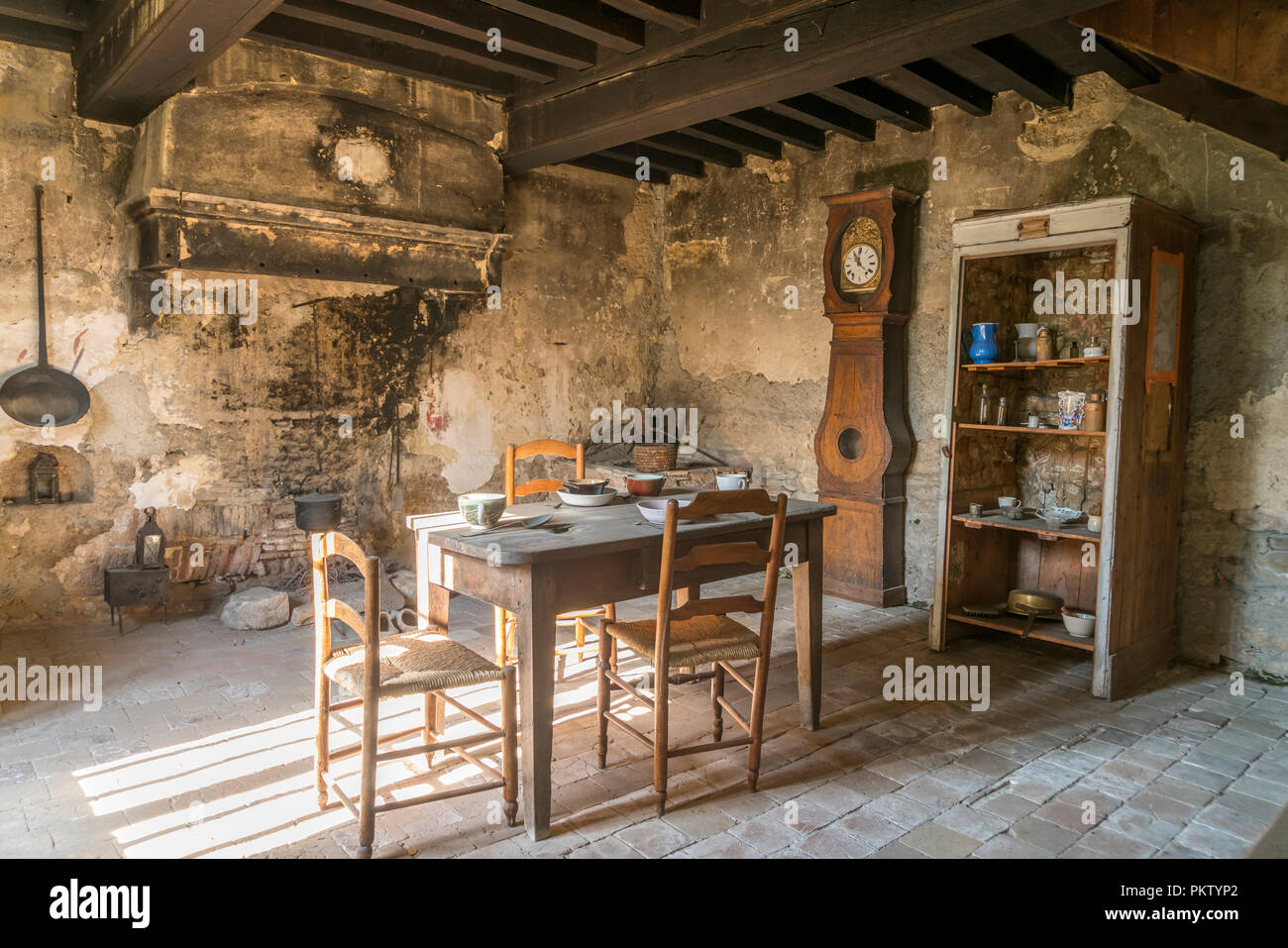 Maison du Saint Cure d'Ars at Ars-sur-Formans, Auvergne-Rhone-Alpes, France - Stock Image