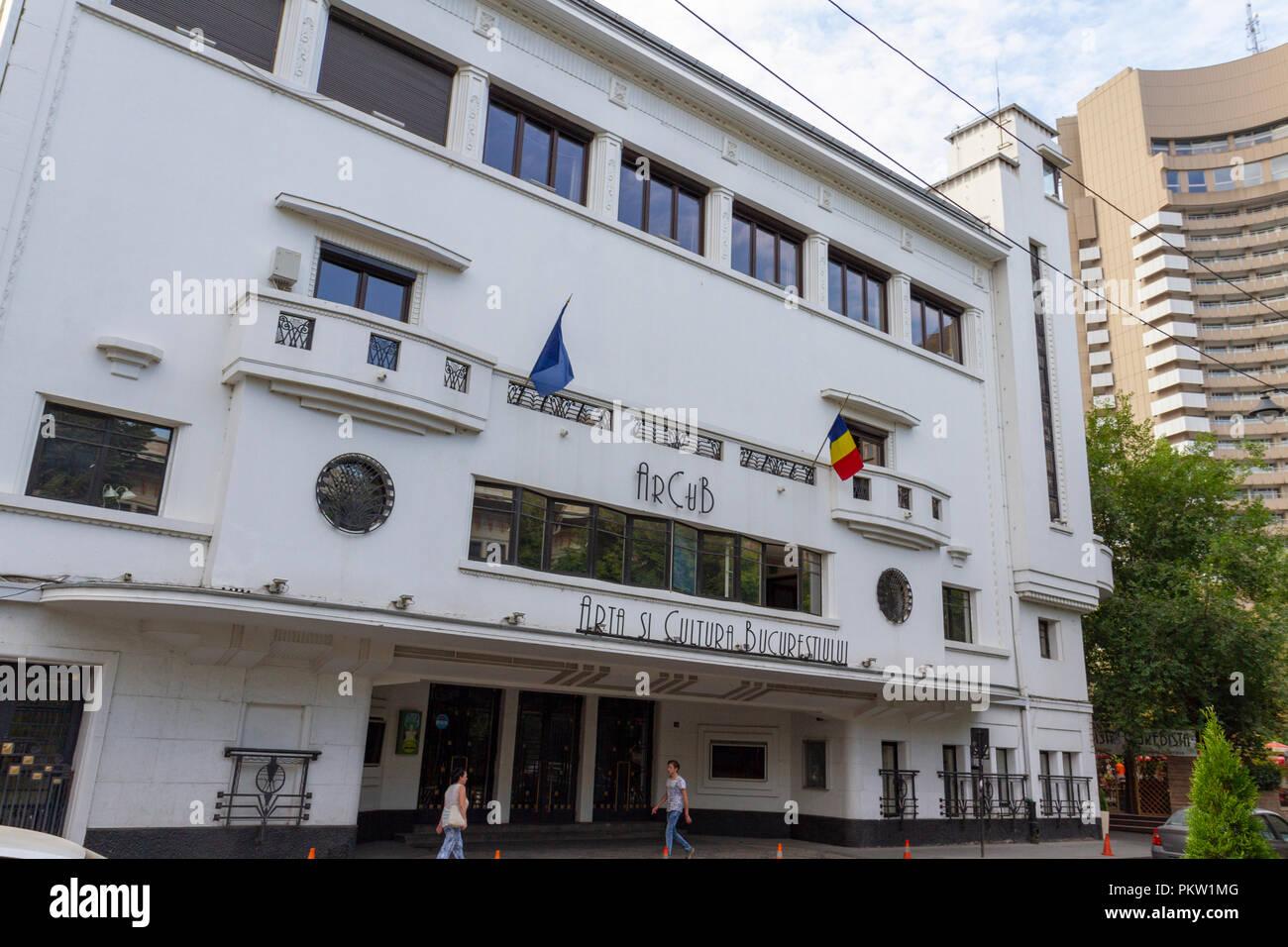The Arta si Cultura Bucuresti in Bucharest, Romania. - Stock Image