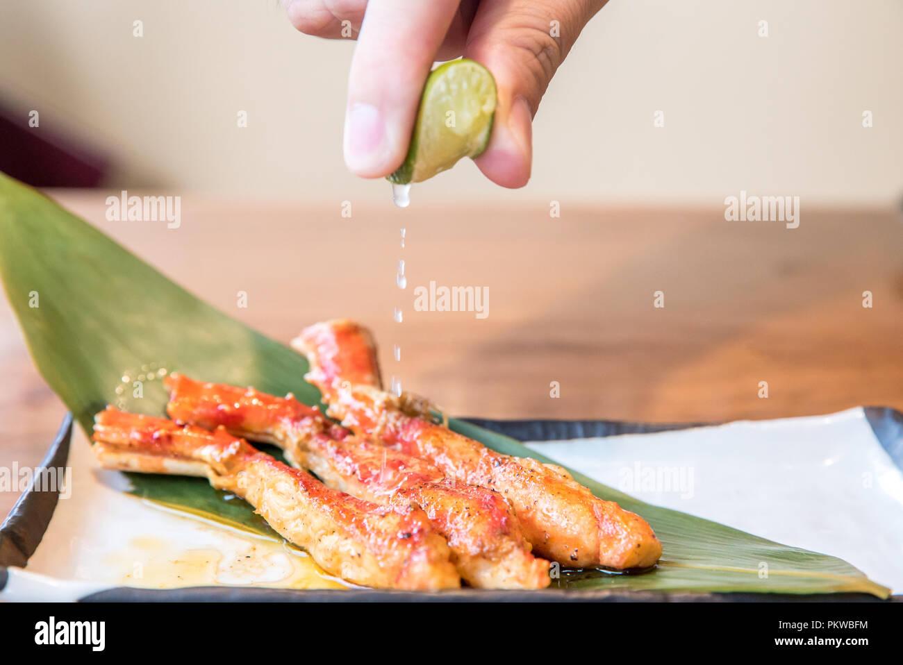 Bbq King Crab High Resolution Stock ...