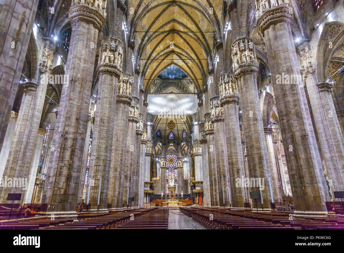 Milan Cathedral. - Stock Image