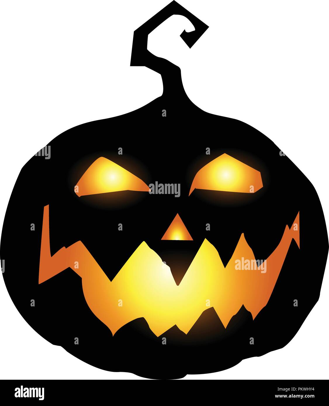 Jack O Lantern Stock Vector Images Alamy