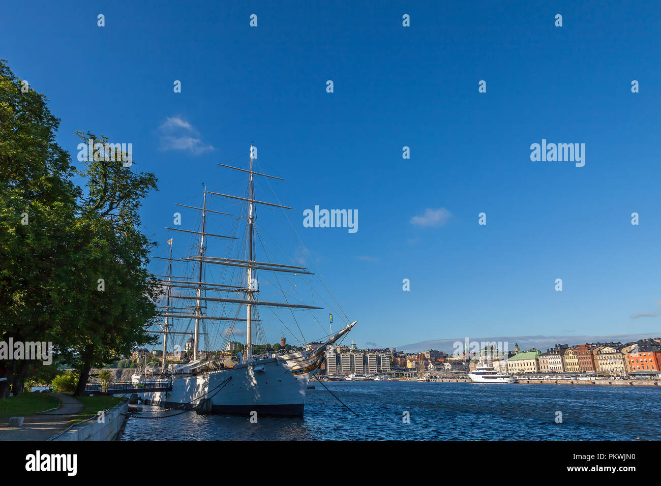 View of Stockholm - Stock Image