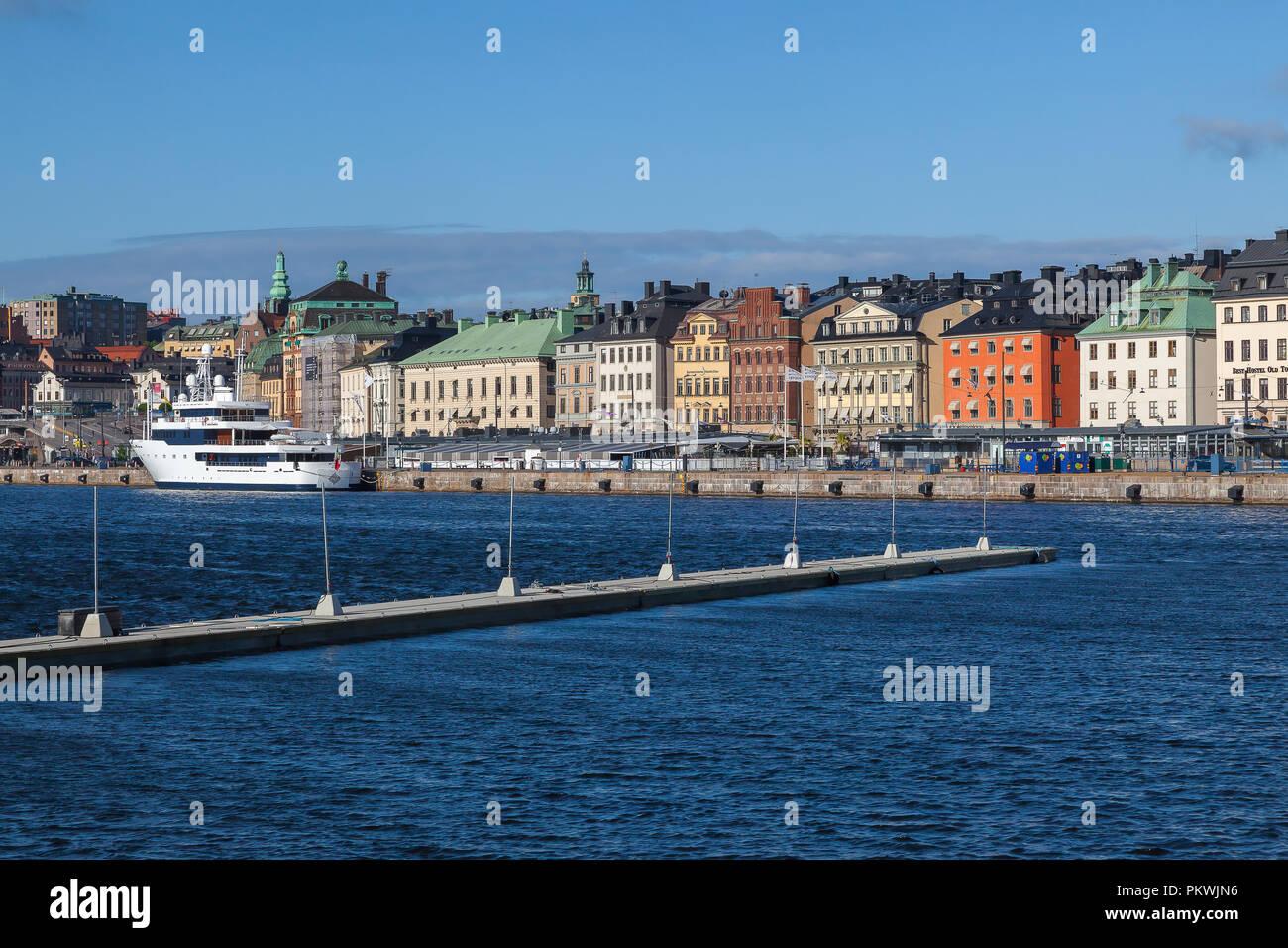 Old Town, Stockholm Sweden - Stock Image