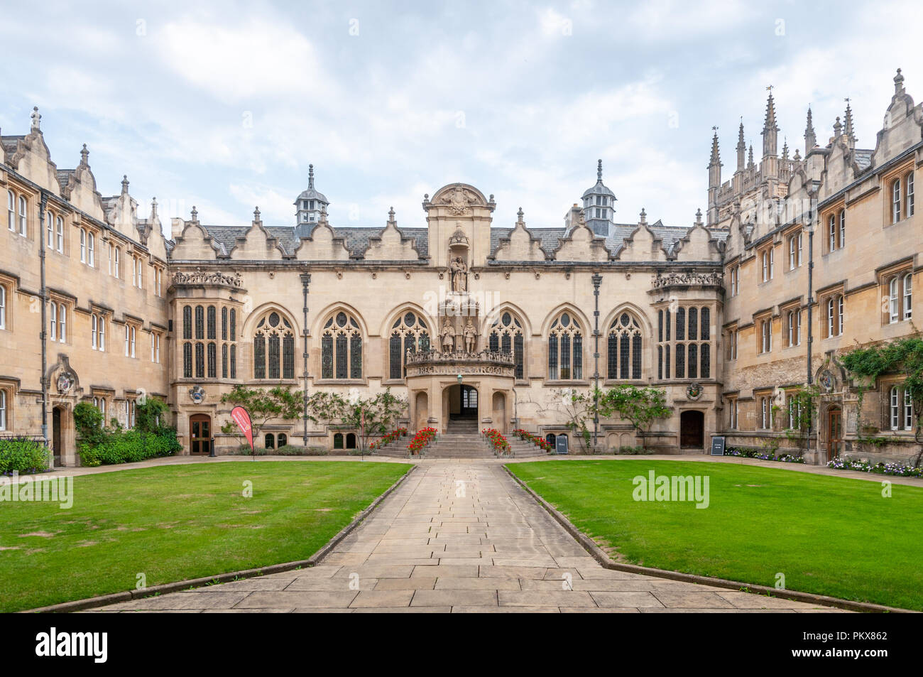 Oriel College - Stock Image