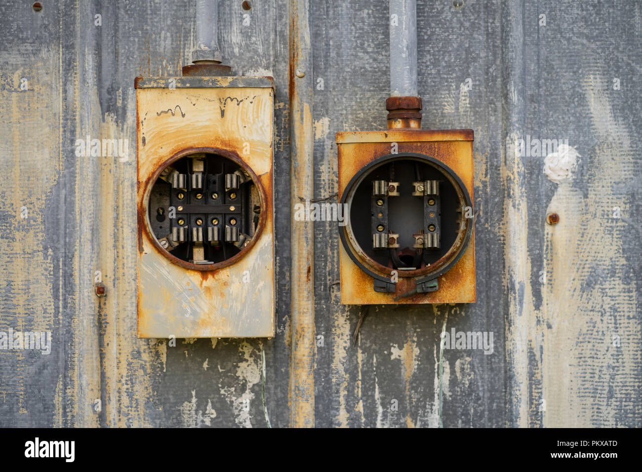 old electrical switches fuse boxes stock photos old electrical rh alamy com