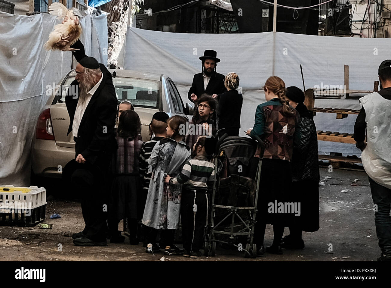 Jerusalem, Israel  16th September, 2018  Religious Jews
