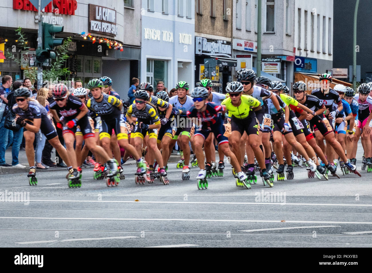 0a81dce9651636 Inline Skaters Stock Photos   Inline Skaters Stock Images - Alamy