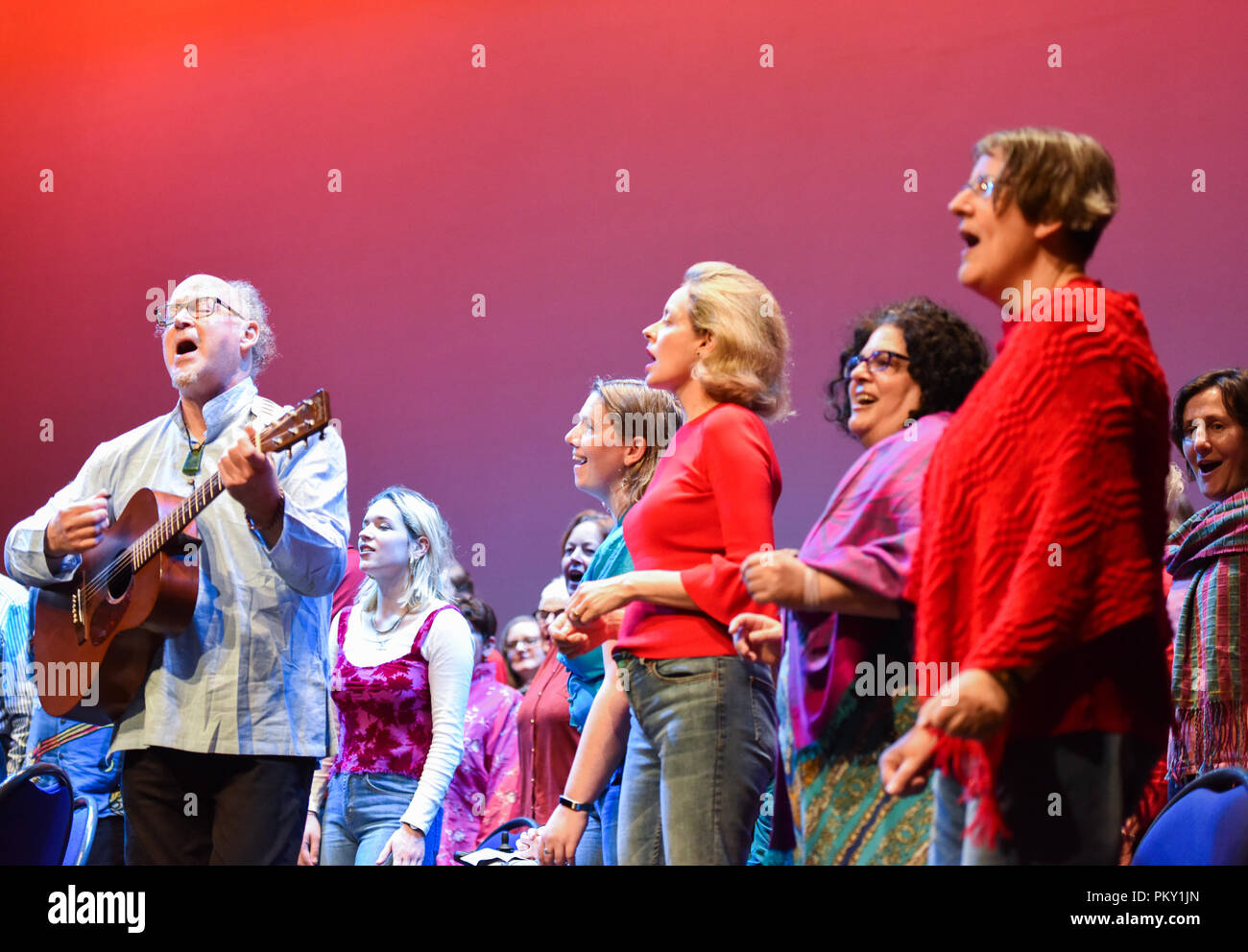 Wellington, Museum in Wellington  16th Sep, 2018  Singers from