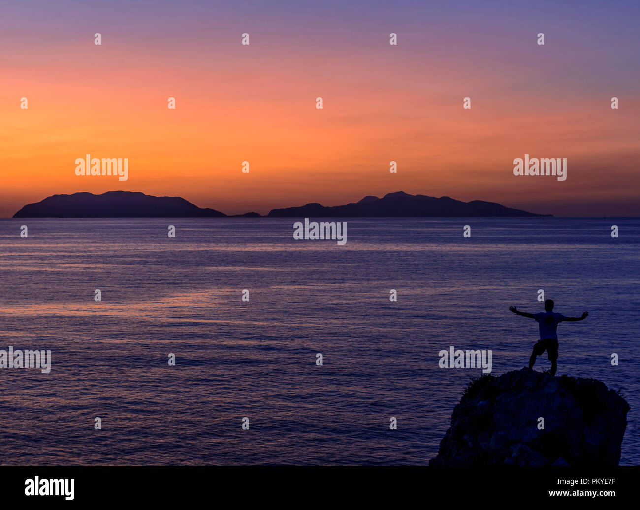 Endless view! - Stock Image