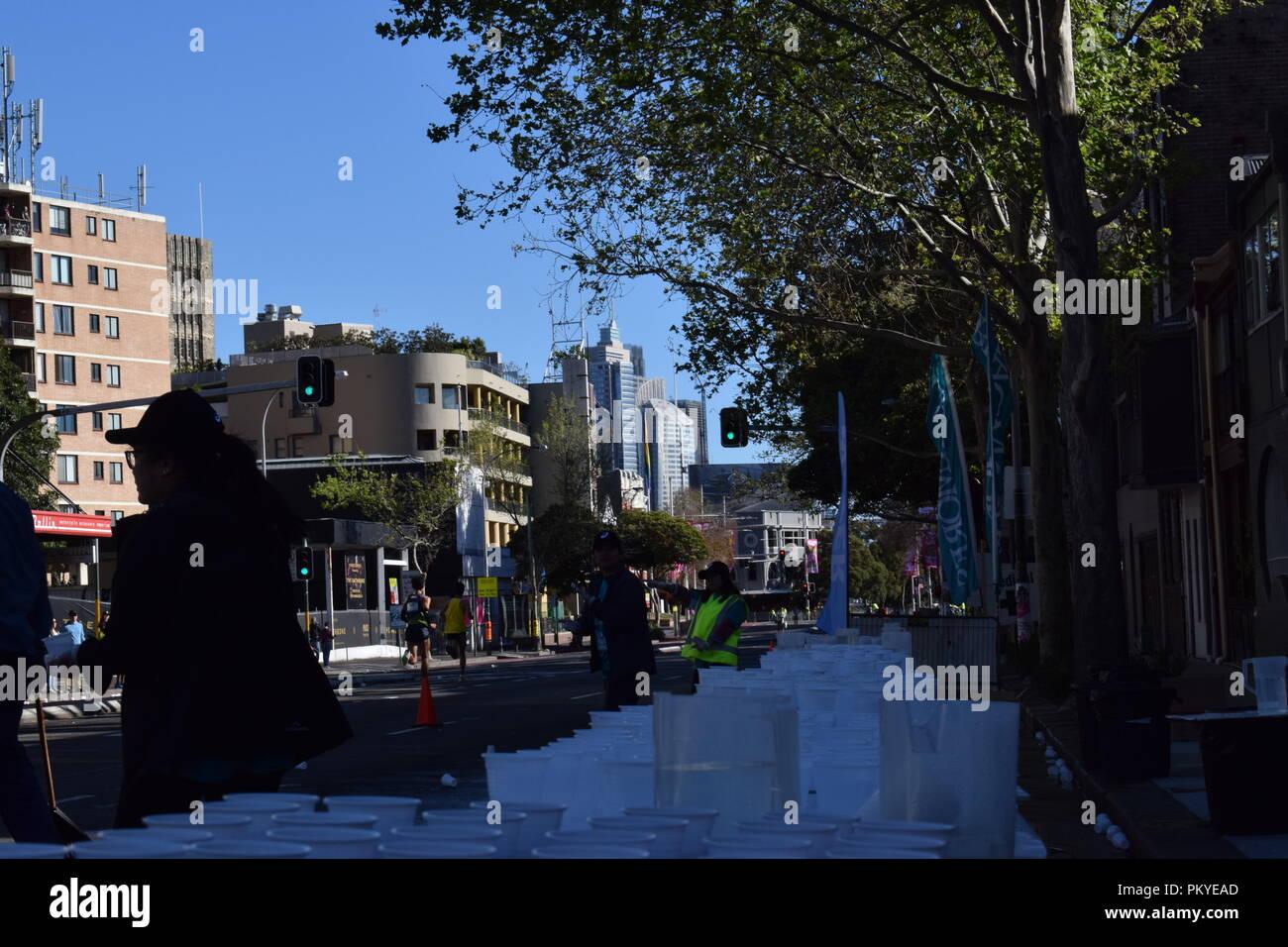 Sydney Running Festival - 2018 - Stock Image