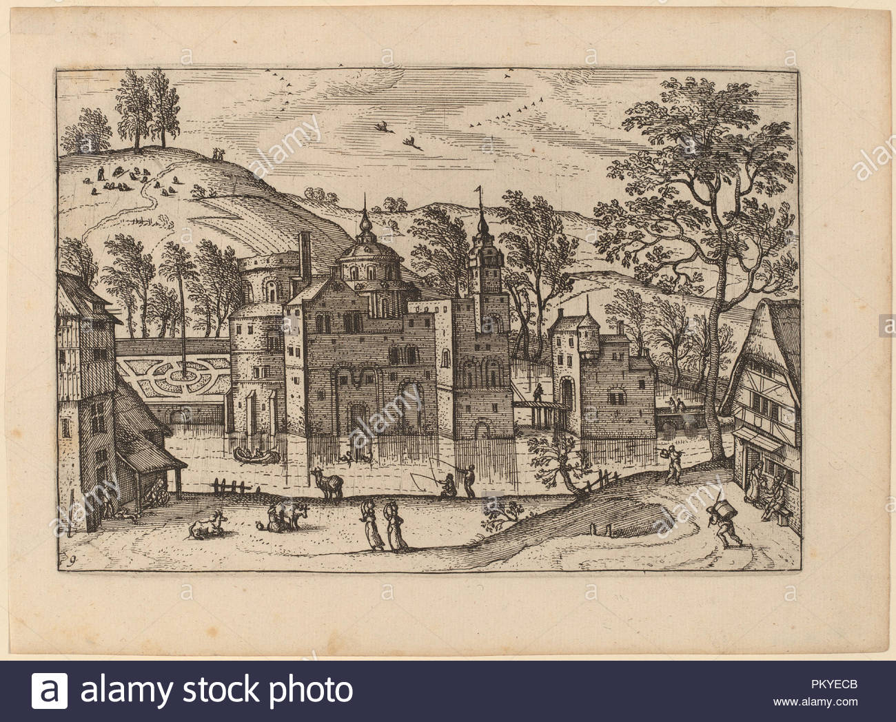 Dated: published in or before 1676. Medium: etching retouched with  engraving. Museum: National Gallery of Art, Washington DC. Author: Carel  Collaert.