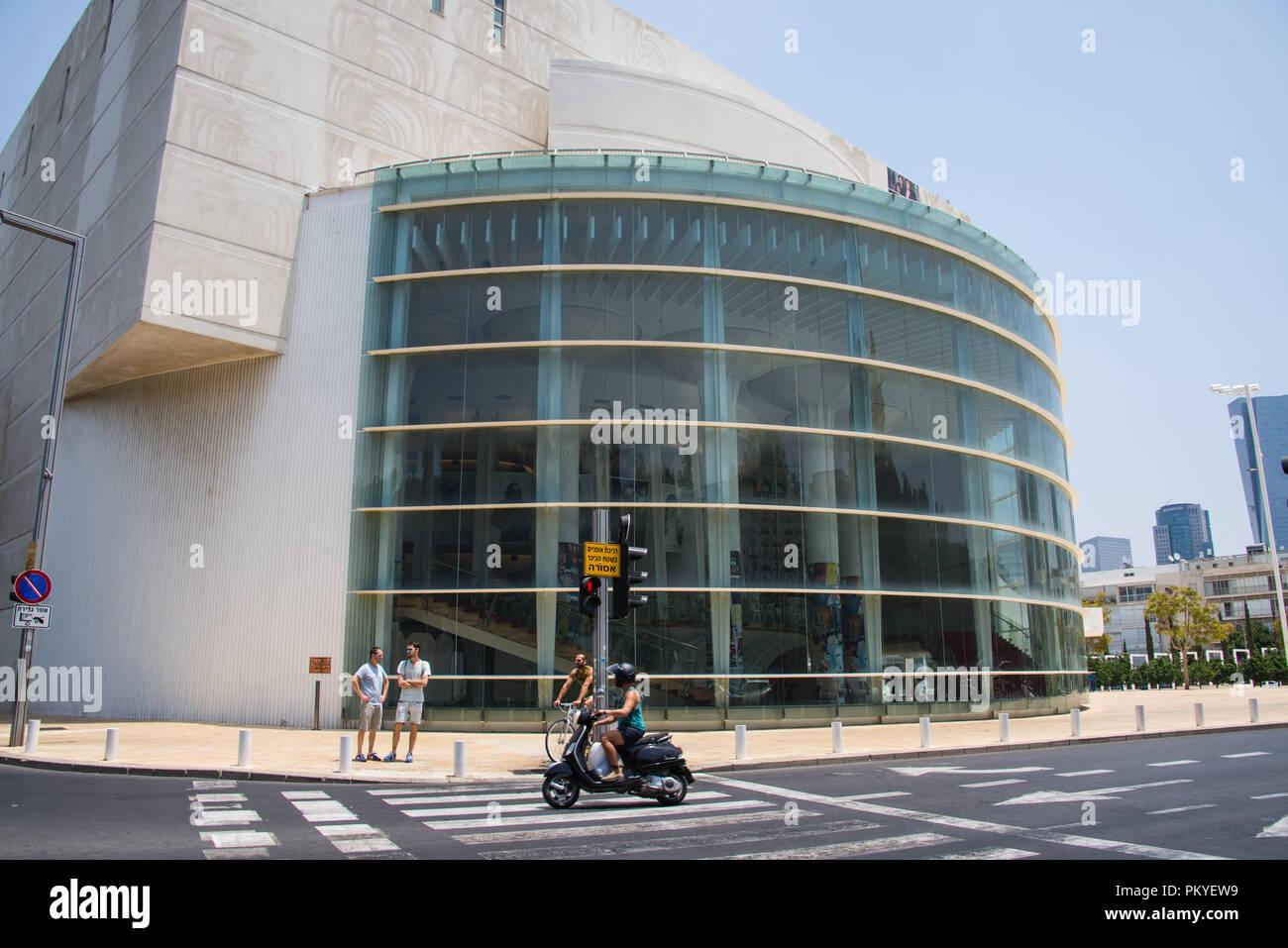 Habima Theater, Tel Aviv, Israel - 1 - Stock Image