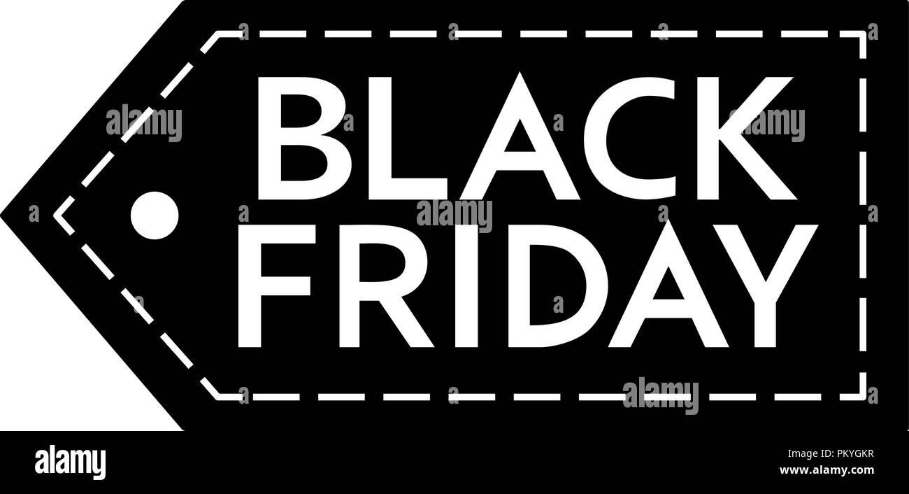 black friday sale inscription design template black friday banner