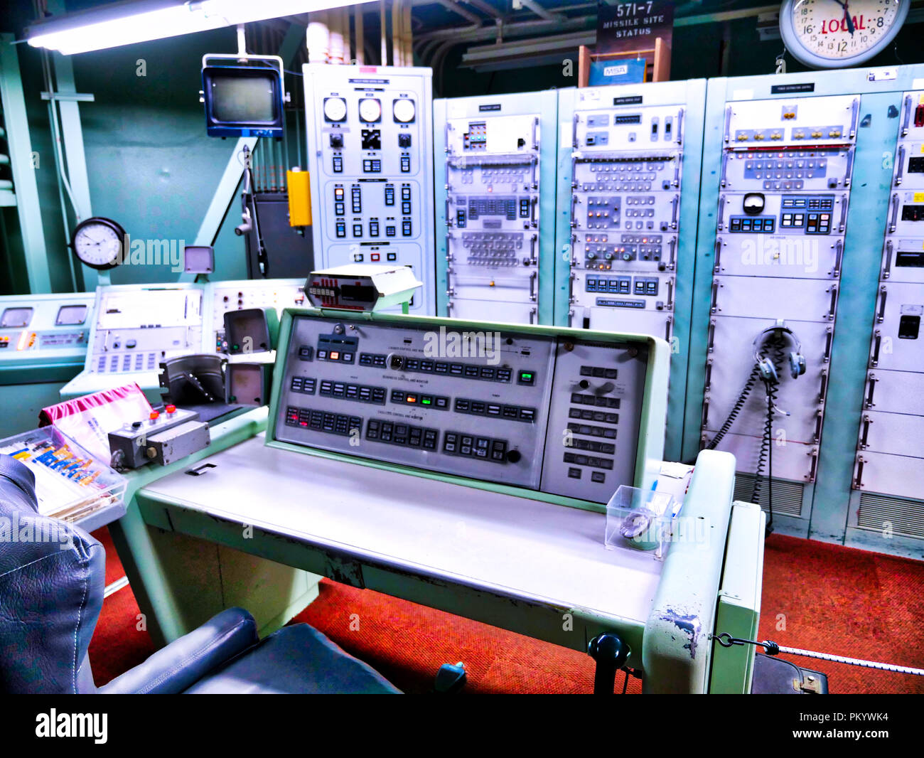Missile Silo Stock Photos & Missile Silo Stock Images - Alamy
