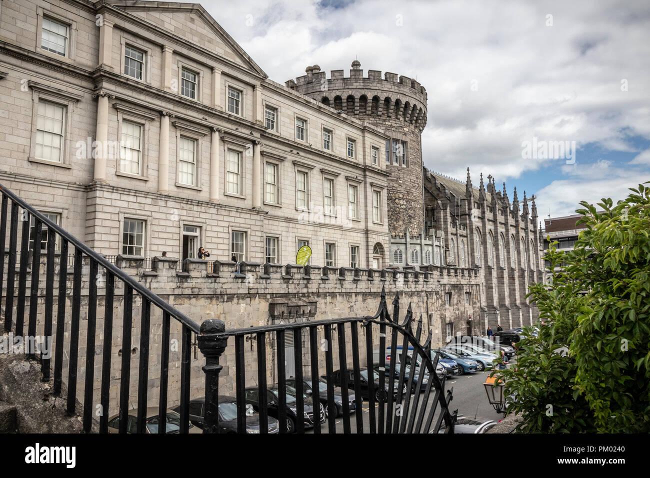 Dublin Castle, Dublin, Ireland, Europe. Stock Photo