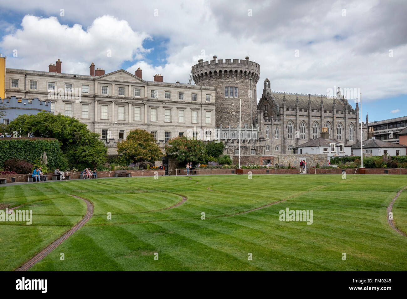 Dublin Castle, Dublin, Ireland, Europe. Stock Photo