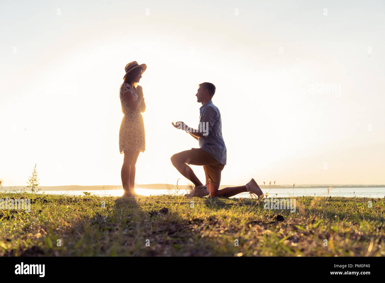 what knee do u propose on