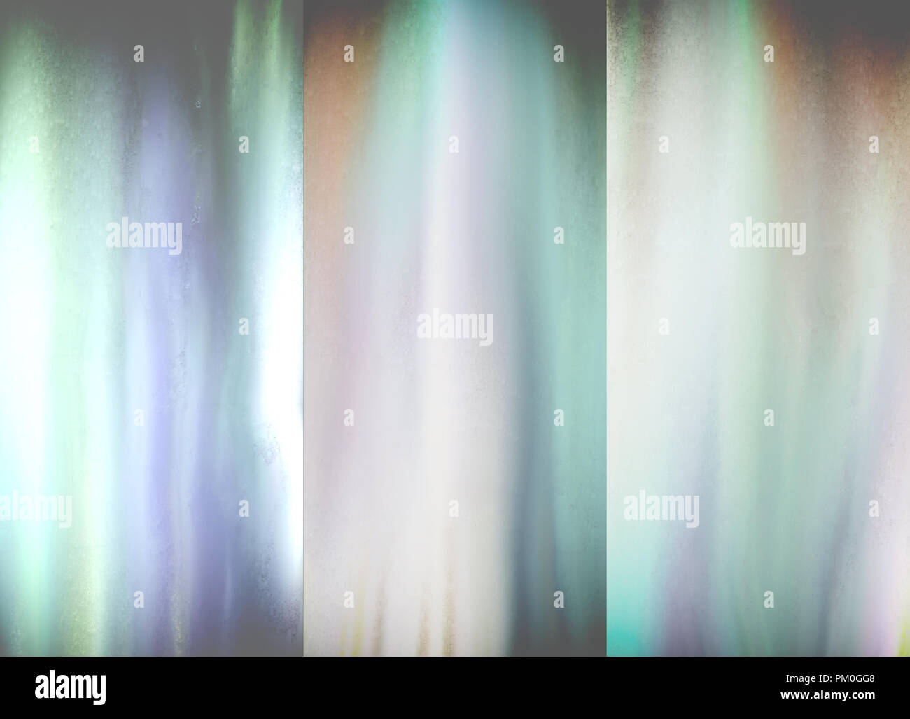 Abstract painting. Blurred soft light. - Stock Image