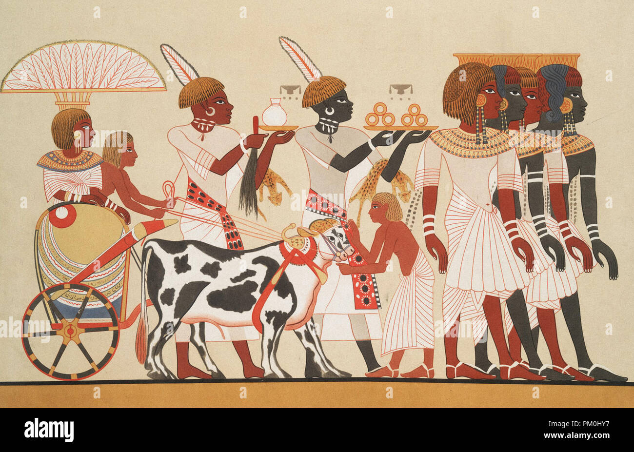 ancient egyptian drawings and paintings