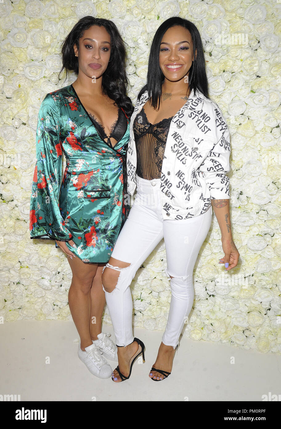 Various celebrities attend the Stefflon Don Mixtape Party  Featuring: Stooshie Where: London, United Kingdom When: 16 Aug 2018 Credit: WENN.com - Stock Image