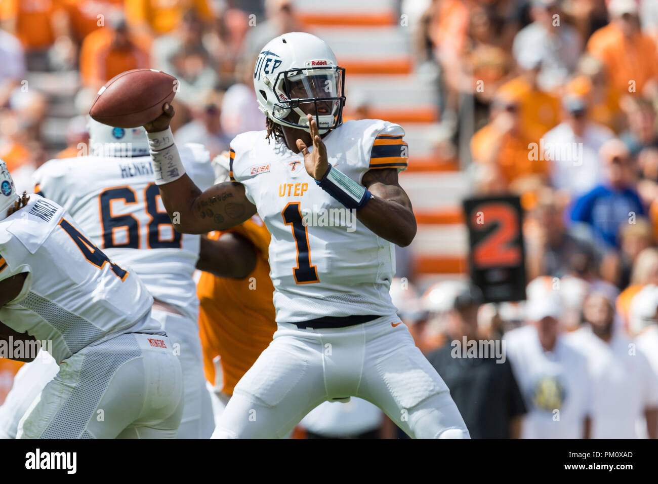 premium selection eaf43 a3d61 Knoxville, USA. 15 September 2018. Kai Locksley #1 of the ...