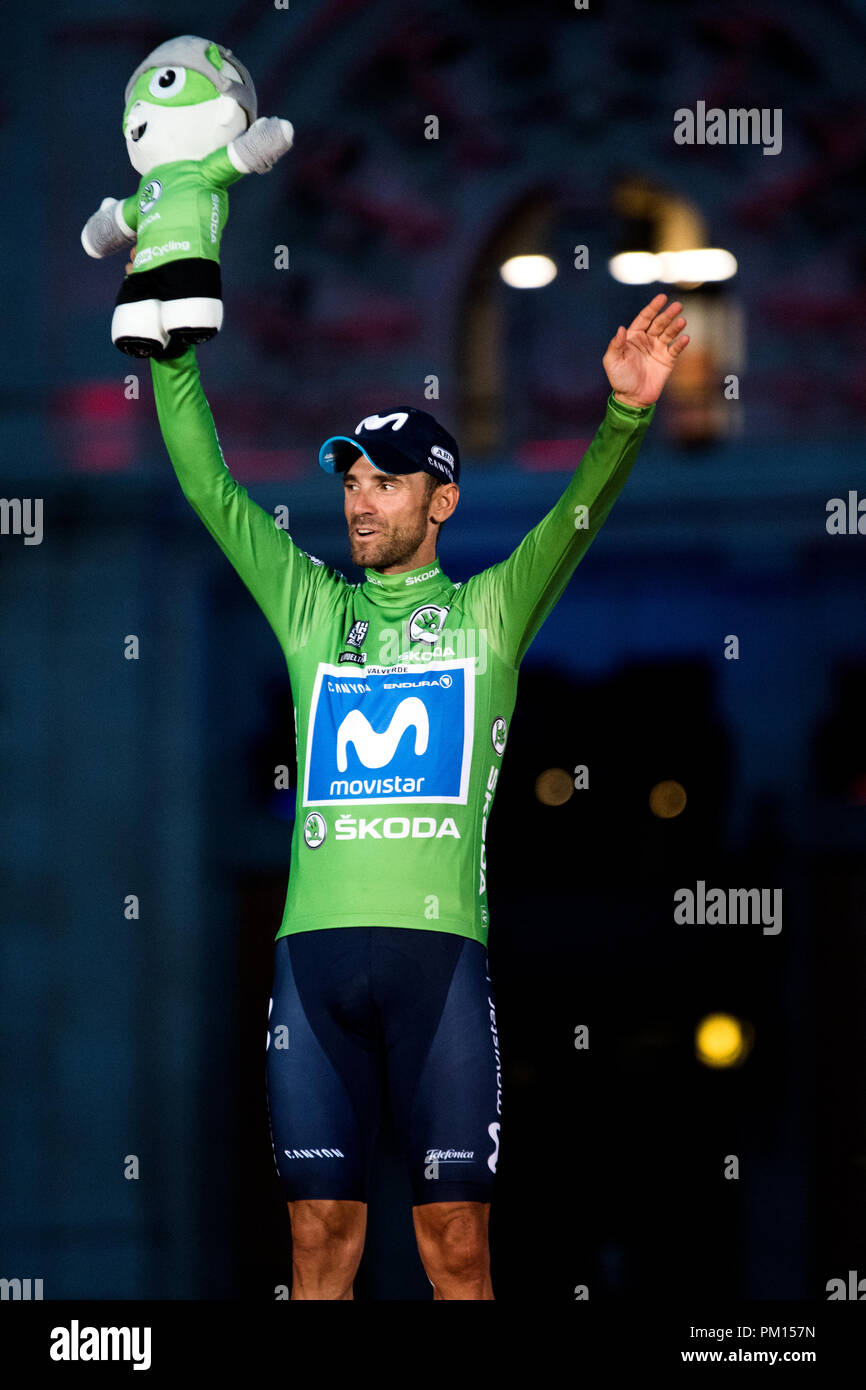 28b6d5597 madrid-spain-16th-september-2018-alejandro-valverde-movistar-team -at-the-podium-like-winner-of-points-clasification-during-final-stage-of- cycling-race- ...