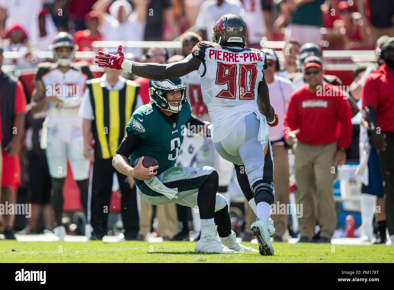 best sneakers 71a08 cdf22 Tampa, Florida, USA. 16th Sep, 2018. Tampa Bay Buccaneers ...