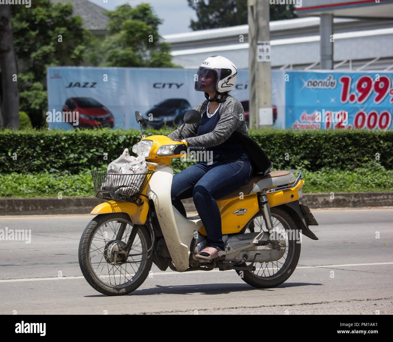 Chiangmai, Thailand - September 11 2018: Private Honda ...